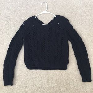 Hollister Navy Sweater